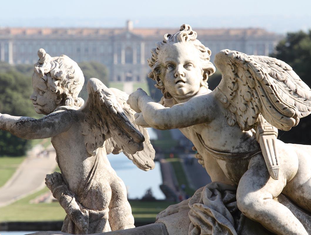 Caserta e la reggia: palazzo Vanvitelli