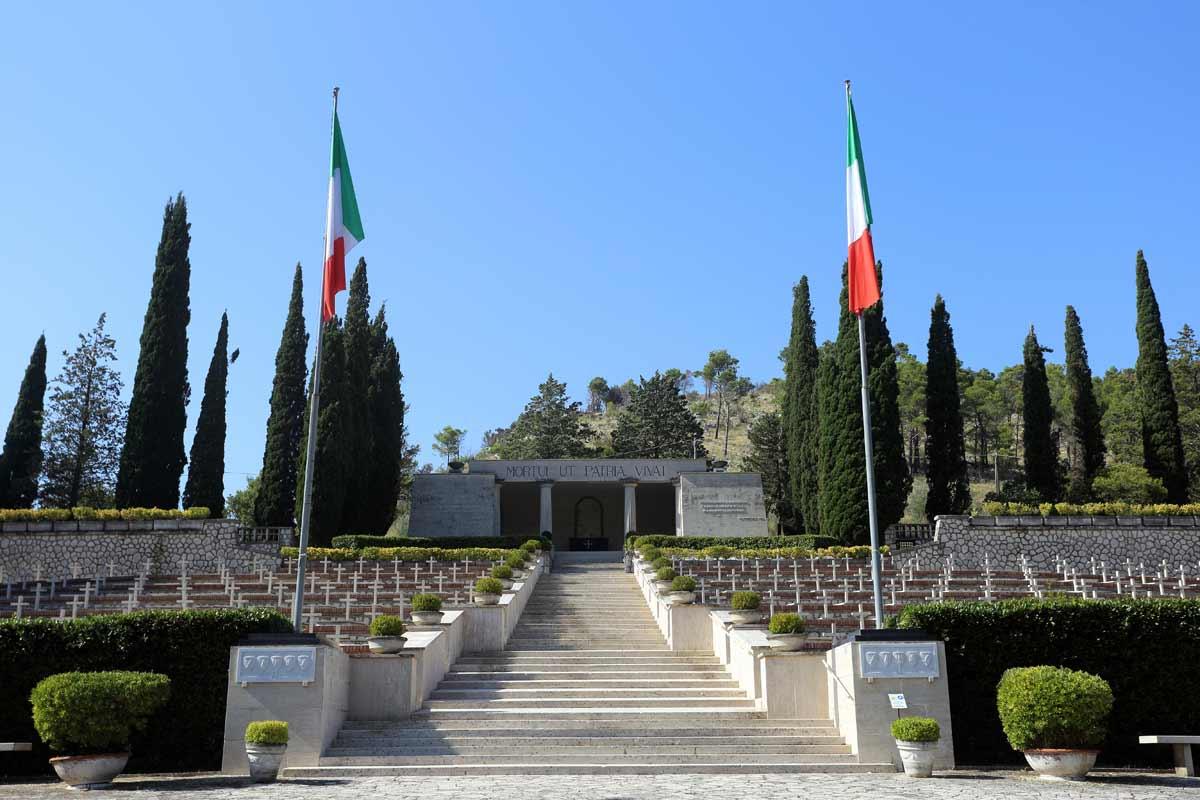 Il sacrario militare di Mignano Montelungo